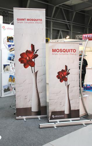 Roll up banner Mosquito 3 m / 2 m